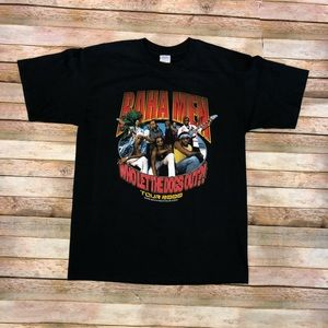 2000s Baha Men Who let the Dogs Out World Tour Tee
